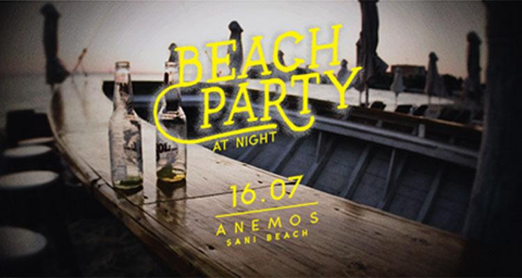 Beach Party At Night - 16/07/2016